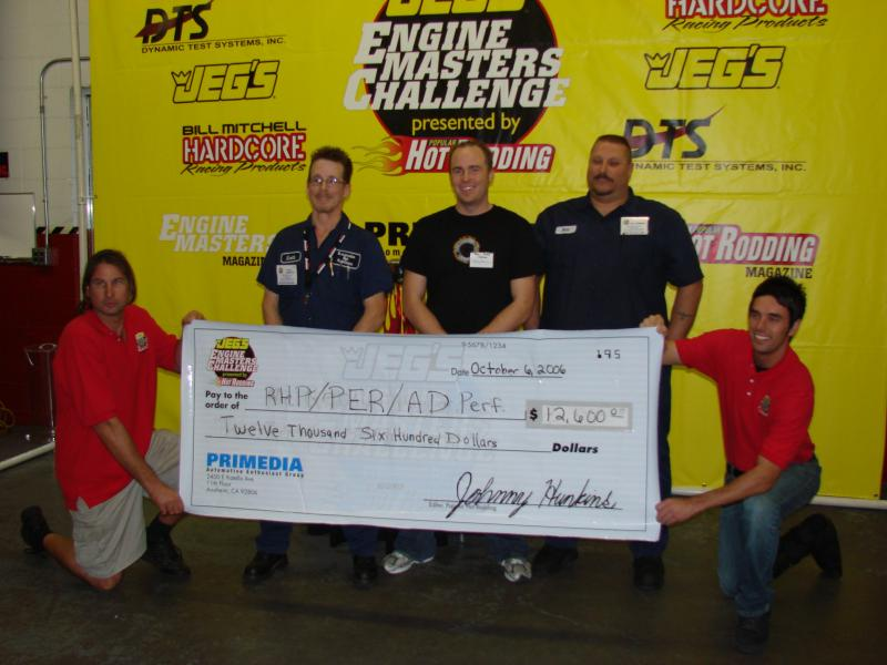 Engine masters check presentation